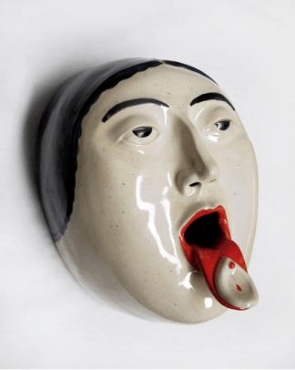 Máscara Comunión Altavoz Laia Arqueros